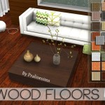 Pralinesims' Wood Floors 5