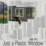 BuffSumm's Just a Plastic Window (2×1)
