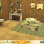 xyra33's xyra Cuisine dinning set