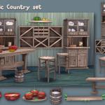 soloriya's Rustic Country Set