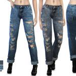 zodapop's (S4) Mid Wash Boyfriend Jeans