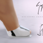 MA$ims 3: Giuseppe Zanotti Mirrored Sandals