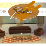 Ts3 to Ts4: Awesims Bantam Sofa Set | Sims 4 Designs