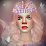 Jennisims: Downloads sims 4: Accessory Tiara Pearl ,Headband TeddyBear Male /Female