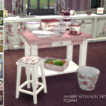 Sims 4. Shabby Style Kitchen Clutter. – PqSim4