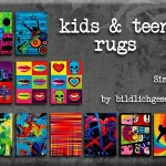 Kids and Teens rugs | akisima sims blog