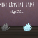 PAFFINASIMS | MINI CRYSTAL LAMP