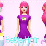♡ Pastel-sims ♡ Belle Hair! ♥