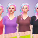 Simlife  Kind of Kawaii Crop Top (new mesh )