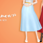 Drama or Die Carmen skirt