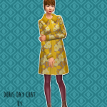 Unbichobolita — Sorta 60s styled winter coat for the ladies…..