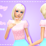 ♡ Pastel-sims ♡ Frosting Hair Recolor! ♥