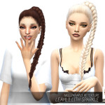 MISSPARAPLY | [TS4] Leahlillith Sparkle: Solids 64 colors Custom…