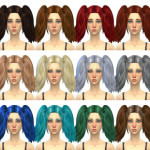 Simduction – Harley Hair by Simduction New hair for females….