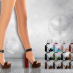 Sentate's Monaco Platform Sandals