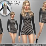 Devilicious' Taylor Swift's SkyRadio TV Commercial Outfit