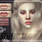 Pralinesims' GENTLE Nude Lips | N44