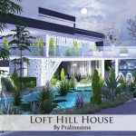Pralinesims' Loft Hill House