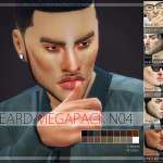 Pralinesims' Beard Megapack 4.0 | 10 Beards