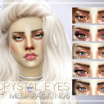 Pralinesims' Crystal Eyes Megapack 6.0 ~ 5 Eyes