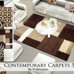 Pralinesims' Contemporary Carpets 5