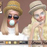 Pinkzombiecupcakes' PZC_Straw Hat