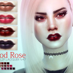Pralinesims' Blood Rose ~ Cyber Lip Lacquer | N47