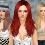 Cazy's Miller – Female Hairstyle