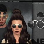 Mr.Alex's Blvck sunglasses (two versions)