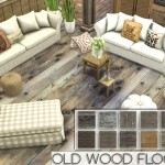 Pralinesims' Old Wood Floors