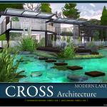 Pralinesims' Modern Lake Abode