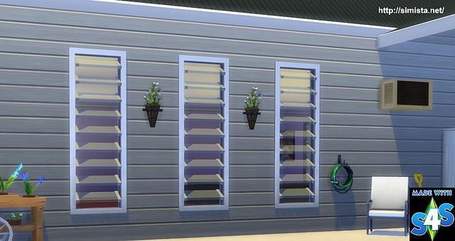 Simista A little sims 4 blog ♥: Louver Lover Window | Sims ...