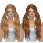 Simista A little sims 4 blog ♥: Baby Doll Hair Retexture