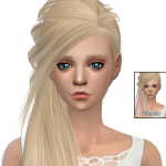 Simista A little sims 4 blog ♥: Skysims Hair 253 Retexture