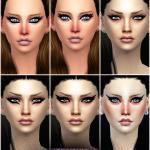 Jennisims: Downloads sims 4:Exotic Eyeliners Vol4 Base Game compatible