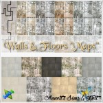 "Walls & Floors ""Maps"""