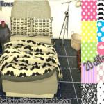 KawaiiSimmer bedblanket&pillow set