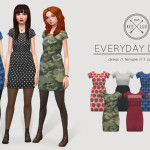 [KEDLUU] EVERYDAY DRESS simple cotton dress in 7… – kedluu's boudoir