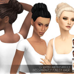MISSPARAPLY | [TS4] missParaply Finley hair: dreads, box braid,…