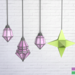 Pink.Sprites  Movie Hangout Lamps in 12 Nyren Kosmik Colors.