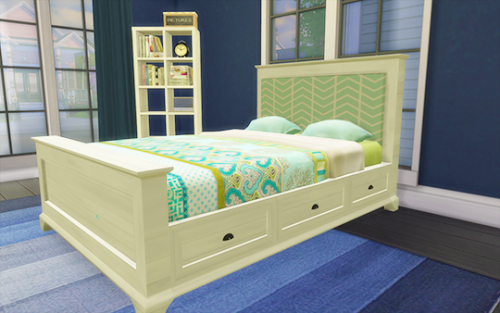 Honeysims Pottery Barn Style Bed Frame And Fabric