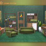 My Space – ***Retro Living Room*** The set includes 10…