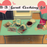 Sweet Cooking Set. (Valentine's Day)