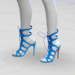 GreenApple18r — [ The Sims 4 Custom Content ]Christian Louboutin…