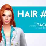 Sweet Taco Plumbobs  HAIR #16