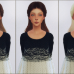 elliesimple,    [Elliesimple] – Hair retexture ombré (GoldDust…