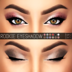 [ Simpliciaty ]  ROOKIE EYESHADOW – N01