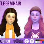 Simduction – Little Gem Hair and Little Strange Hair by…