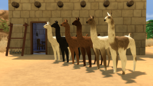 Snowtato And Sims Llamas Sims 4 Updates Sims 4