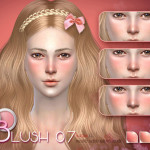S-Club LL ts4 Girl Blush 07